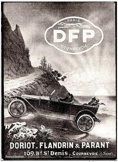 D F P Doriot Flandrin et Parant - Pub papier de 1914.jpg