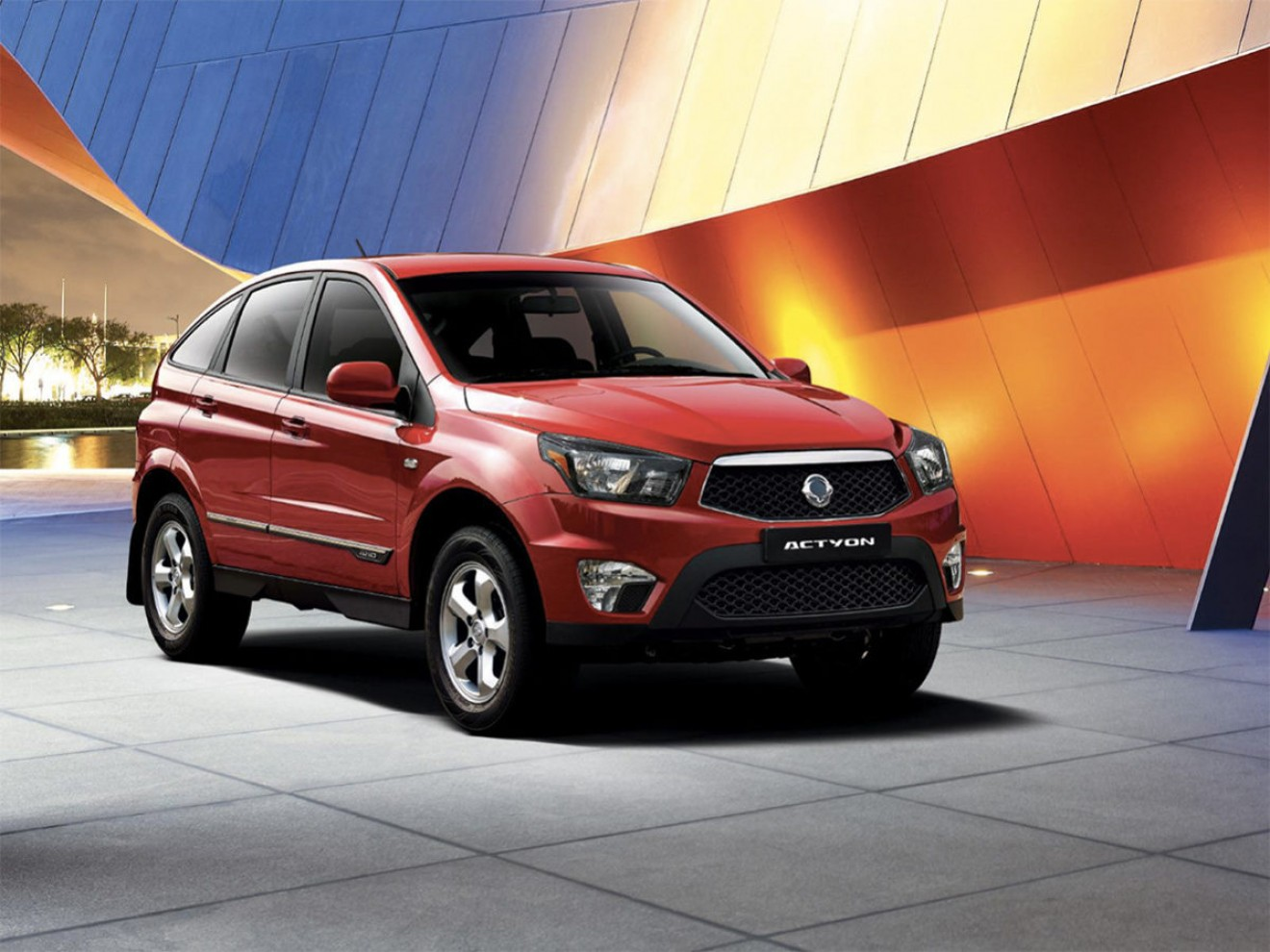 Club SsangYong Actyon