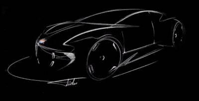 Henrik Fisker presenta su nueva empresa y teaser de su próximo prototipo