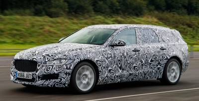 Oficial: primer anticipo del Jaguar XF Sportbrake
