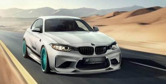 420 caballos de BMW M2 cortesía de Hamann