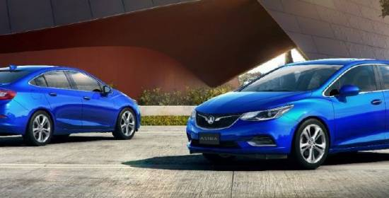 Holden nos descubre como será el futuro Opel Astra sedán