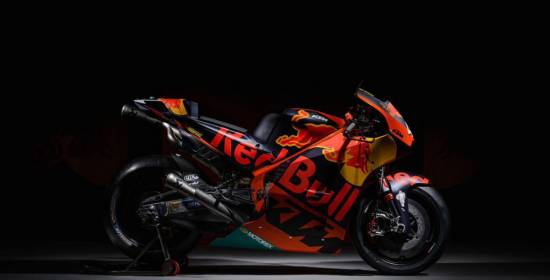 Así es la KTM RC16, la primera MotoGP de la firma austriaca