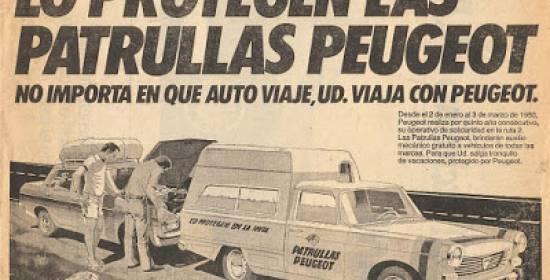 Las patrullas de Peugeot