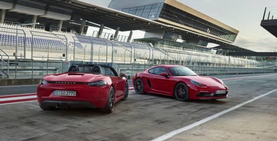 Los Porsche 718 Boxter GTS y el Cayman 718 GTS aumentan sus potencias y dan a conocer su precio en España