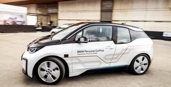 El BMW i3 Personal CoPilot en el Mobile World Congress