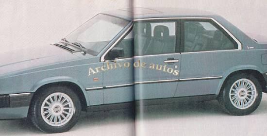 Volvo 780, una cupé sueca diseñada por Bertone y fabricada en Italia